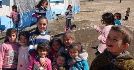Depremin masum yüzlü çocukları