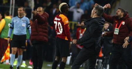 Fatih Terim'in Ersun Yanal'a karşı 5. galibiyeti