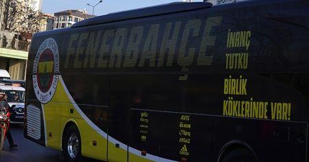 Fenerbahçe, derbi için yola çıktı