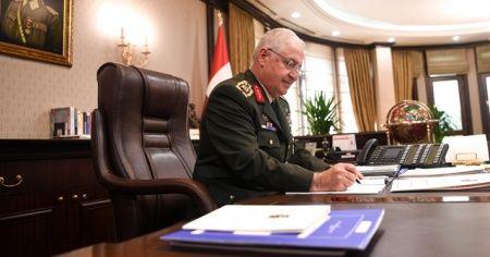 Genelkurmay Başkanı Orgeneral Güler, İngiliz mevkidaşı ile görüştü