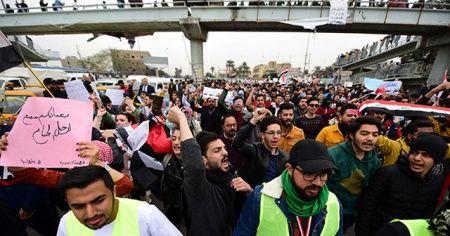 Irak'ta hükümet karşıtı protestoların bilançosu: 545 ölü