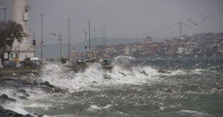 İstanbul Valiliğinden lodos uyarısı