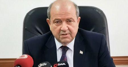 """KKTC Başbakan Ersin Tatar: """"Kuzey Kıbrıs uçuşları vergiler hariç 1 TL"""""""