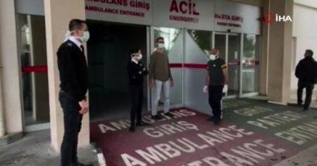 KKTC'de korona virüsü şüphesiyle karantina altına alınan hasta temiz çıktı