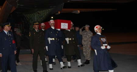 Konyalı şehidin cenazesi memleketine getirildi