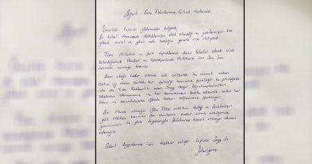 Mehmetçik'ten öğrencilere duygulandıran mektup