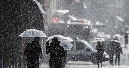 Meteoroloji İstanbul ve o iller için saat verdi! Sağanak, kar ve fırtına...