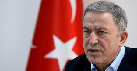 Milli Savunma Bakanı Akar: '200'ü aşkın rejim hedefi ağır ateş altına alındı'