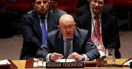 Rusya'nın BM temsilcisi Nebenzya'dan skandal sözler