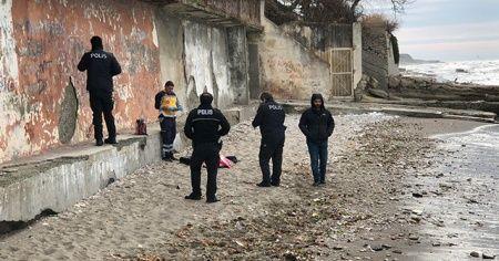 Sahile vurmuş kadın cansız bedeni bulundu