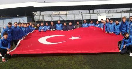 Sarıyer Spor Kulübünden Mehmetçiğe anlamlı destek