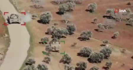 SMO, rejime ait tankı zırhlı araç ile kovaladı