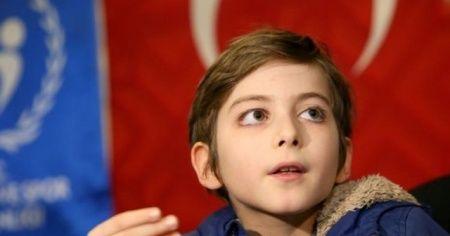 Sosyal medyanın konuştuğu Atakan: 'İleride psikiyatrist olmak istiyorum'