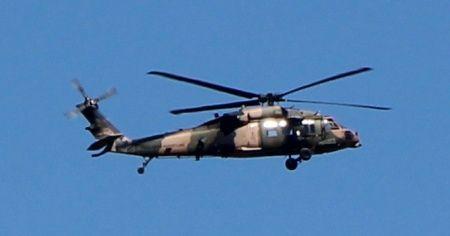 Suriye sınırında askeri helikopter hareketliliği