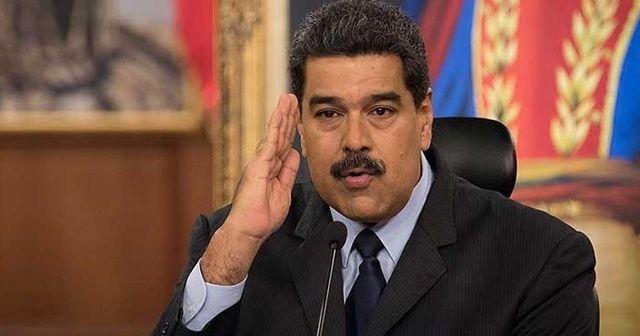 """ABD'den, Venezuela Devlet Başkanı Maduro'ya """"uluslararası uyuşturucu kaçakçılığı"""" suçlaması"""