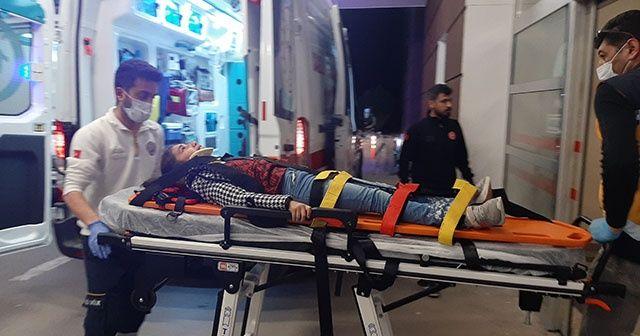 Adıyaman'da 2 araç çarpıştı, 4 kişi yaralandı