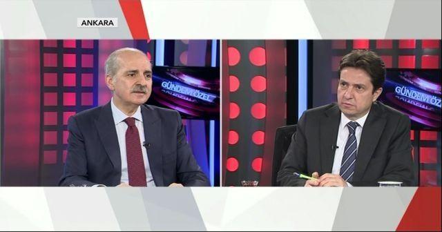 AK Parti Genel Başkanvekili Numan Kurtulmuş TGRT Haber'de gündemi değerlendirdi