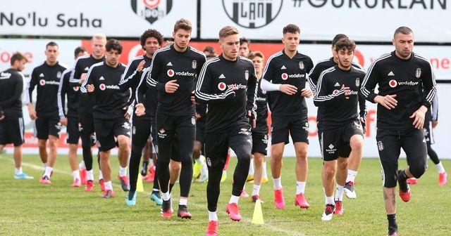 Beşiktaş'ta, Ankaragücü mesaisi sürüyor