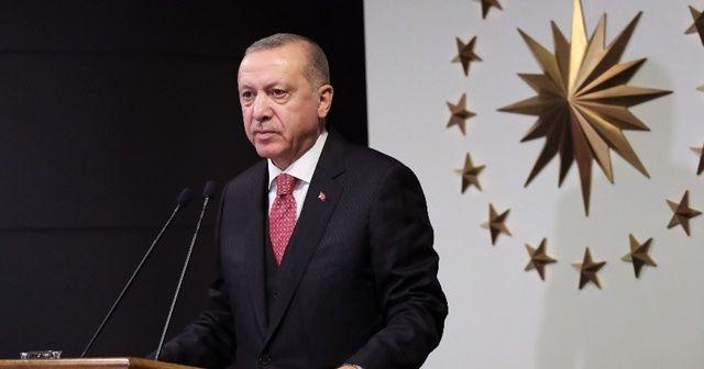 """Cumhurbaşkanı Erdoğan'dan """"Biz bize Yeteriz Türkiyem"""" paylaşımı"""
