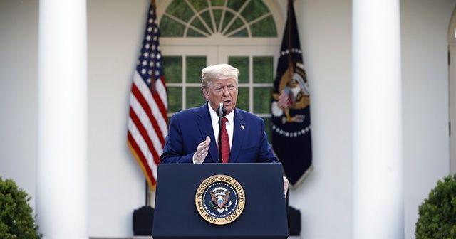 Donald Trump: 1 Haziran'dan sonra iyileşme sürecinde olacağız