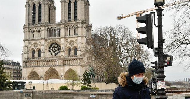 Fransa'da yeni tip koronavirüs salgınında 112 kişi daha öldü