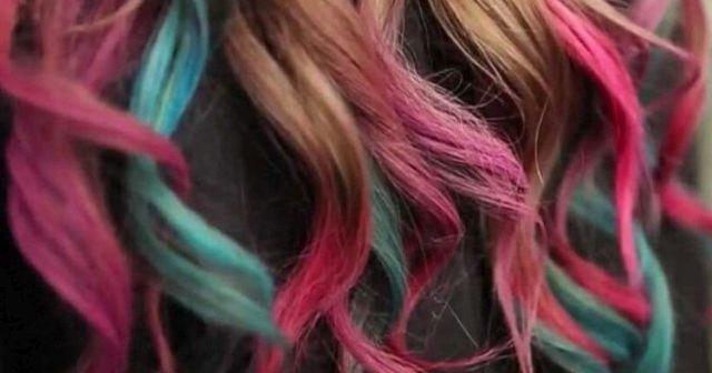 Geçici saç boyası sprey nasıl kullanılır geçici saç boyası kaç günde geçer