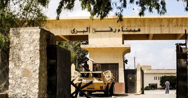 İsrail, Mısır'a açılan kapılarını kapattı