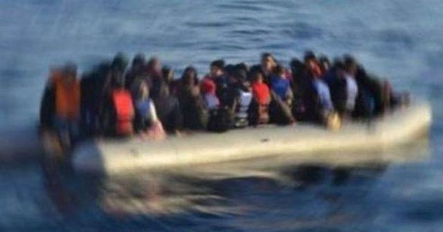 İzmir'de Yunan Sahil Güvenlik unsurlarınca geri itilen 21 göçmen kurtarıldı