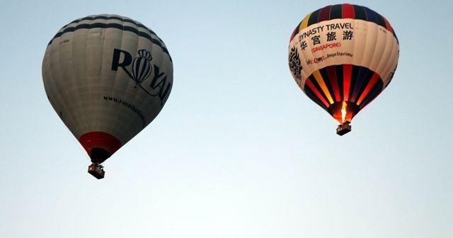 Kapadokya'da balon turları korona virüse karşı durduruldu