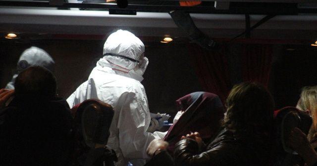 Karantina otobüsünden indirilen genç kızla ilgili soruşturma başlatıldı