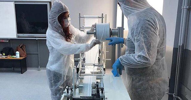 MEB açıkladı: 100 bin maske üretimi başladı