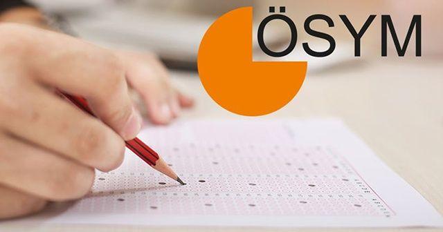 ÖSYM 9 sınavın tarihini erteledi!