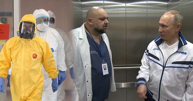 Putin'e eşlik eden başhekimde koronavirüs tespit edildi
