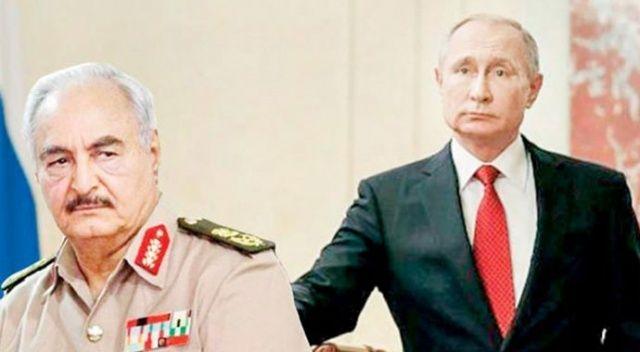 Rusya'dan Hafter'e silah yardımı