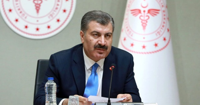 Sağlık Bakanı Koca: 15 hastamız hayata veda etti