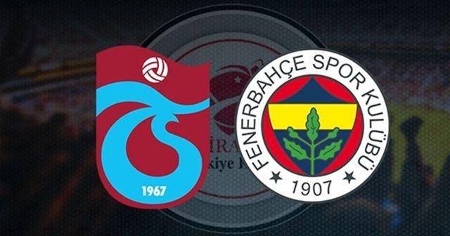Trabzonspor - Fenerbahçe Maçı Hangi kanalda? Şifresiz canlı yayın veren kanallar hangileri?Trabzonspor - Fenerbahçe Maçı CANLI İZLE