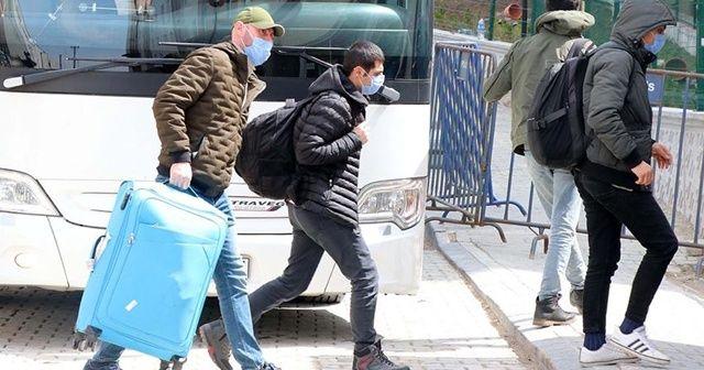 Yurt dışından gelen 138 kişi Bolu'da yurda yerleştirildi