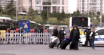 14 günlük karantinanın ardından tahliyeler başladı