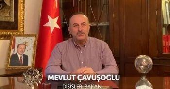 Bakan Çavuşoğlu'ndan yurt dışındaki Türklere 'evde kal' çağrısı