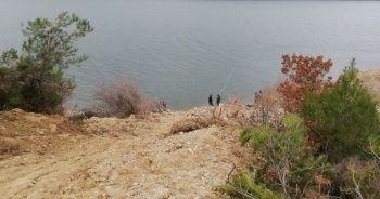 Baraj gölünde kesik insan kolu bulundu