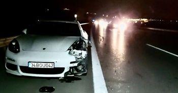 Bursa-İzmir-İstanbul Otoyolu'nda feci kaza