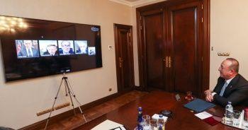 Çavuşoğlu'ndan büyükelçilerle telekonferans görüşmesi