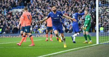 Chelsea, Everton'ı farklı mağlup etti