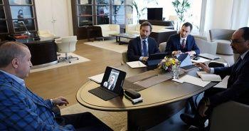 Cumhurbaşkanı Erdoğan, Bakan Karaismailoğlu ile görüştü