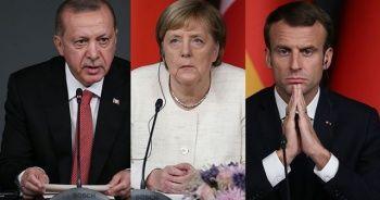 Cumhurbaşkanı Erdoğan'ın Macron ve Merkel ile yapacağı zirveye koronavirüs önlemi
