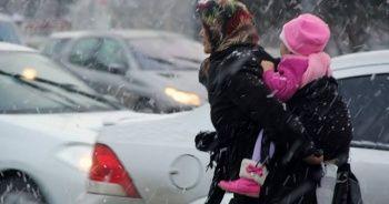 Doğu'da karla karışık yağmur bekleniliyor