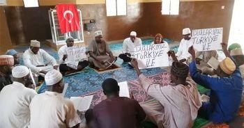 İDDEF medreselerinden Mehmetçik'e dua