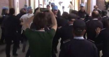 KKTC polisi ile BM Barış Gücü arasında gerginlik