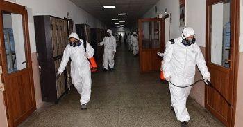 MSB: Birliklerimizdeki ortak kullanım alanlarında dezenfekte işlemleri titizlikle sürdürülüyor