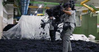 Plastik atıktan kumaş üreten firma 70 ülkeye ihracat yapıyor